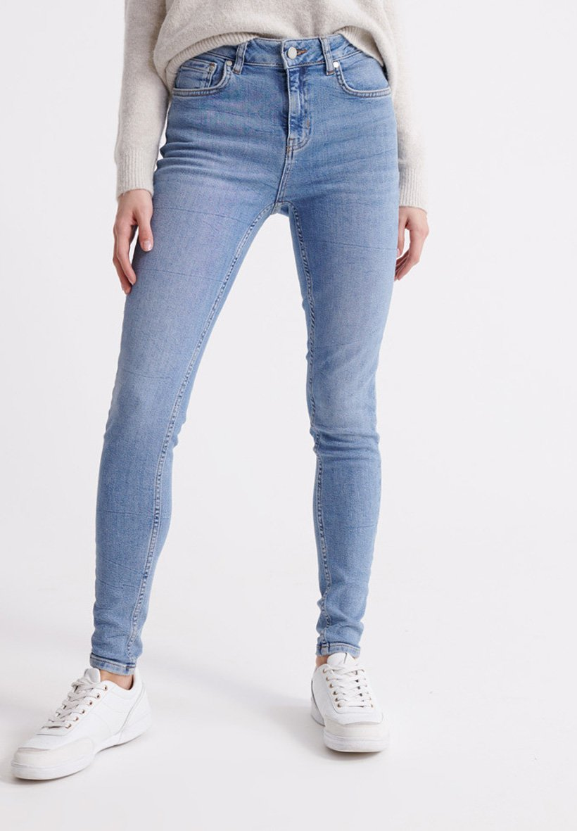 Women SUPERDRY MID RISE SKINNY JEANS - Jeans Skinny Fit
