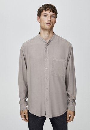 HEMD MIT MAOKRAGEN UND TASCHE 05474506 - Shirt - camel