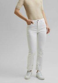 Esprit - Straight leg jeans - white - 0