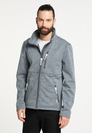 Light jacket - rauchmarine melange