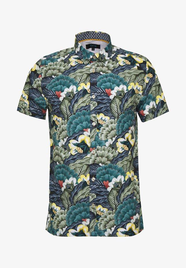 HAWKSHEAD BOTANICAL LARGE FLORAL - Overhemd - green