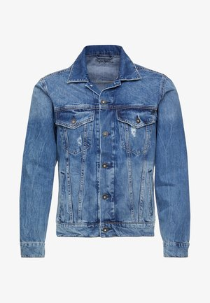 PINNER - Veste en jean - medium used