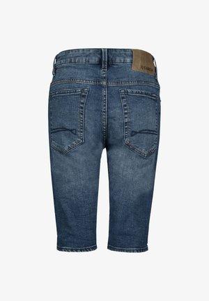 TAVIO - Denim shorts - blue