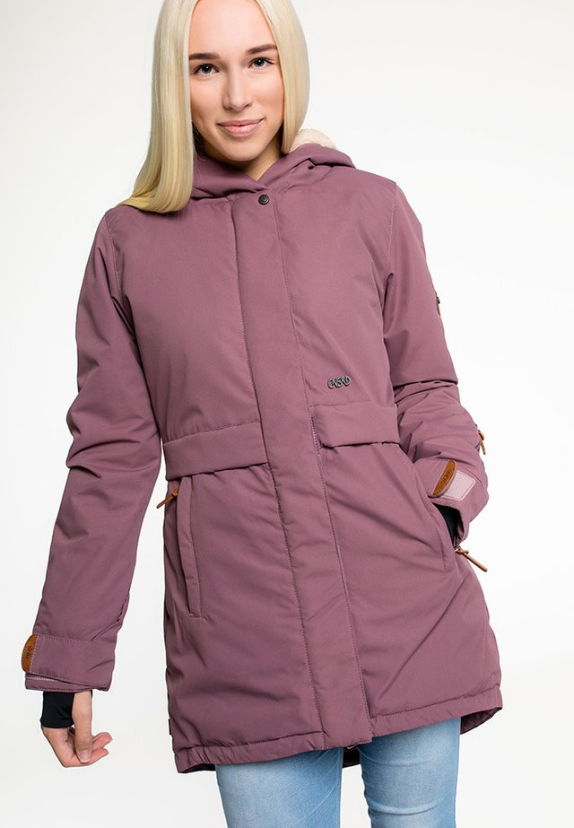 ELENA - Winter coat - wine