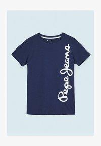 Pepe Jeans - WALDO  - T-shirt con stampa - thames - 0