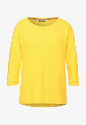 Long sleeved top - gelb