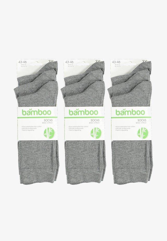Sokken - medium grey melange
