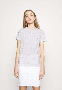 ONLY - ONLBONE LIFE TOP BOX - T-shirt imprimé - bright white - 0