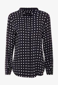Bruuns Bazaar - BONNE FILIPPA - Button-down blouse - black - 4
