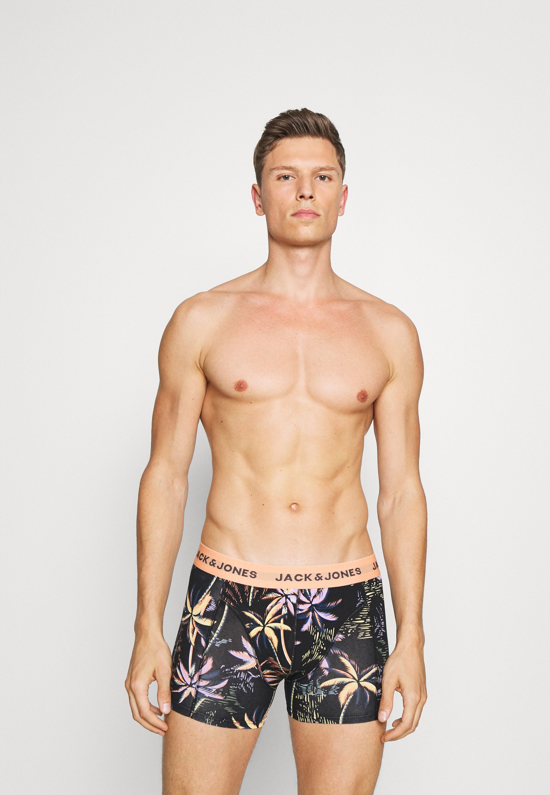 Uomo JACTROPIC PALM TRUNKS 3 PACK - Culotte