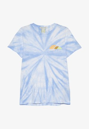 TIE DYE AND ARTWORKS - Camiseta estampada - sky blue