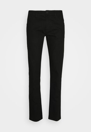 NEW YORK - Slim fit jeans - black denim
