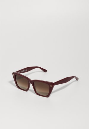 FARA - Sunglasses - arctic raspberry/brown