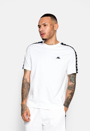 ILYAS - Print T-shirt - bright white
