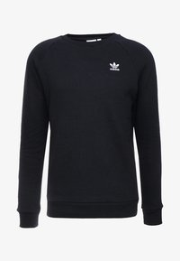 adidas Originals - ESSENTIAL CREW UNISEX - Sweatshirt - black
