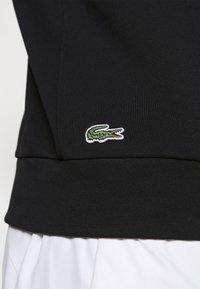 Lacoste Sport - BLIND CROCO - Sweatshirt - black/flour - 5