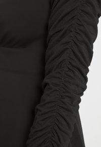 NA-KD - PAMELA REIF DRAPED  - Jersey dress - black - 5