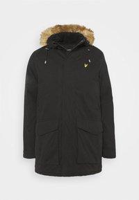 WINTER WEIGHT - Winter coat - jet black