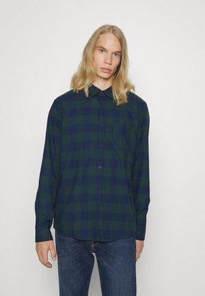 Shirt - teal blue