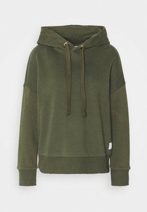 LONGSLEEVE HOODED - Sweatshirt - utility olive