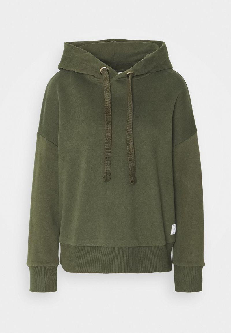 Marc O'Polo DENIM - LONGSLEEVE HOODED - Sweatshirt - utility olive