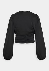 Gina Tricot - VICTORIA BLOUSE - Long sleeved top - black - 6