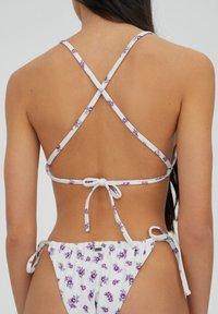 PULL&BEAR - Bikini top - white - 4