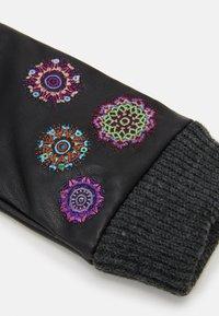Desigual - GLOVES ASTORIA - Gloves - black - 2