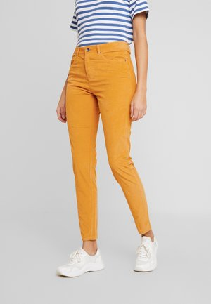 TROUSER - Trousers - mustard yellow