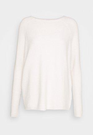 GARTER - Jersey de punto - white melange