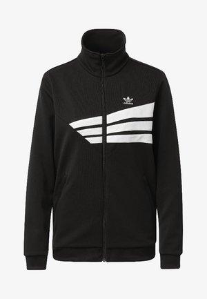 Track Jacket - Zip-up hoodie - black