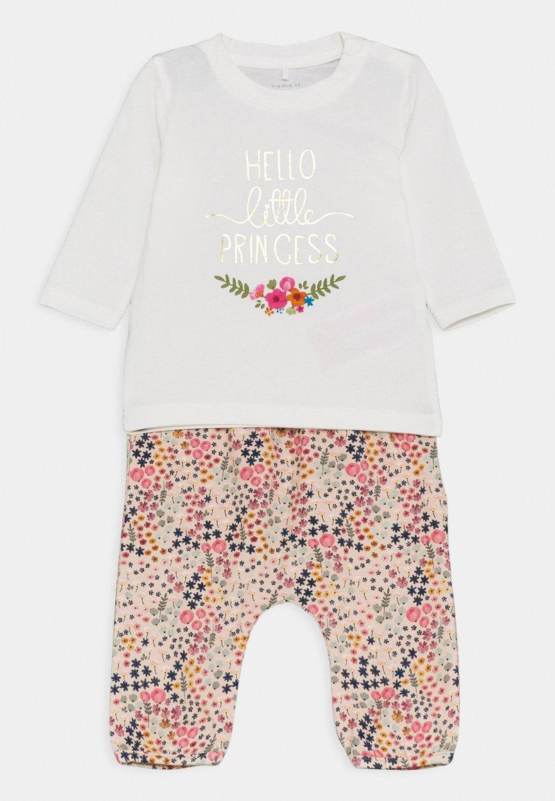 Name it - NBFBIANCA SET - Leggings - Trousers - snow white