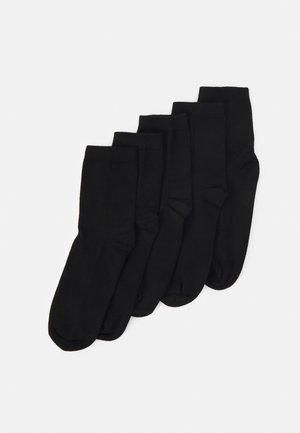 Sokker - black dark