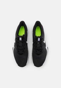 Nike Performance - PRECISION V - Basketball shoes - black/white/anthracite/volt - 3