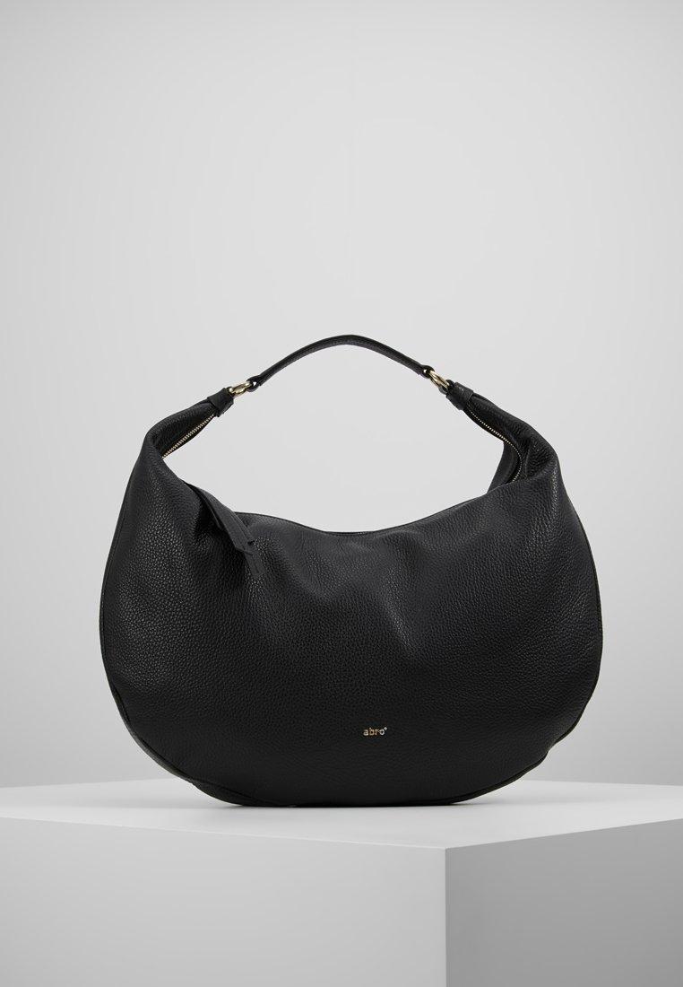 Abro - Handtasche - black/gold