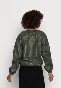 InWear - CADIX JACKET - Leather jacket - green olive - 2