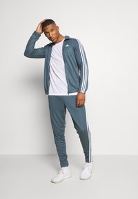 adidas Performance - TIRO AEROREADY SPORTS TRACKSUIT SET - Survêtement - legend blue - 1