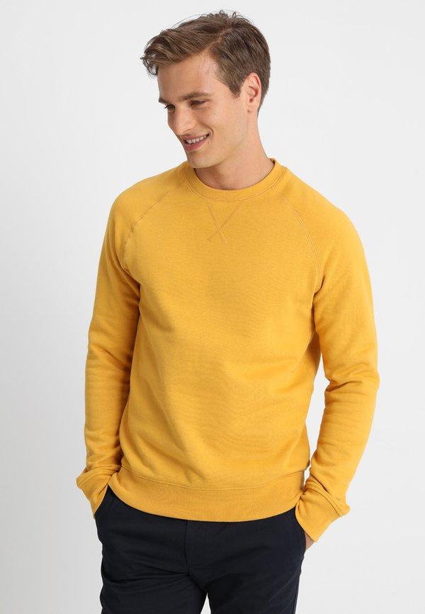 Pier One Bluza - yellow/żÓłty Odzież Męska OSTC
