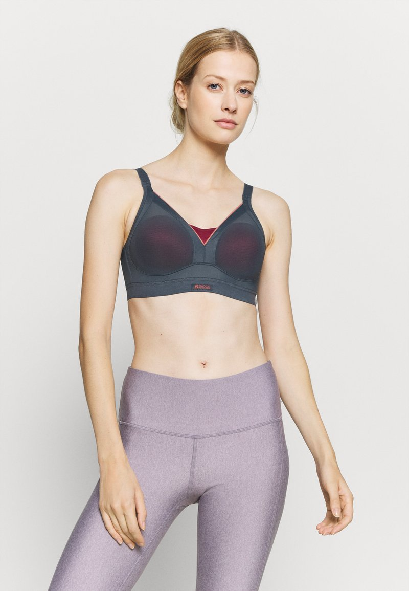 Shock Absorber - ACTIVE SHAPED SUPPORT - Sports bra - dunkelgrau