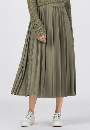 Pleated skirt - salbei