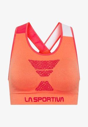 FOCUS TOP  - T-shirts med print - flamingo/hibiscus