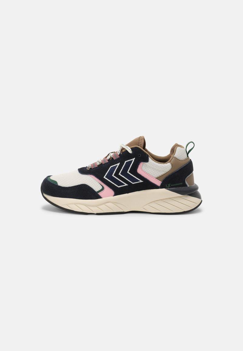 Hummel - MARATHONA REACH LX UNISEX - Sneakers - navy/woodrose