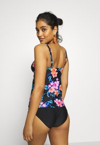 LASCANA - WIRE TANKINI LOA SET - Bikini - black - 2
