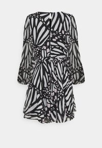 Milly - ELMA GRAPIC BUTTTERFLY DRESS - Day dress - black/white - 7