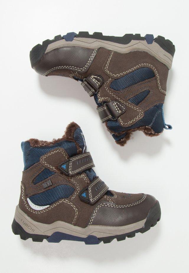 TIMO-TEX - Bottes de neige - brown/navy