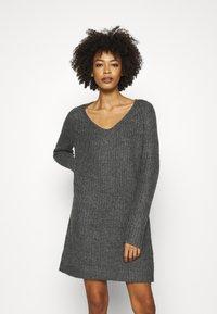Anna Field - Jumper dress - dark grey melange - 0