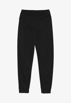 YOUNG GIRLS ESSENTIALS LINEAR SPORT PANTS - Verryttelyhousut - black/white