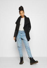 Vero Moda - VMCALA JACKET - Classic coat - black - 1