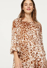 OYSHO - Maxi-jurk - brown - 4