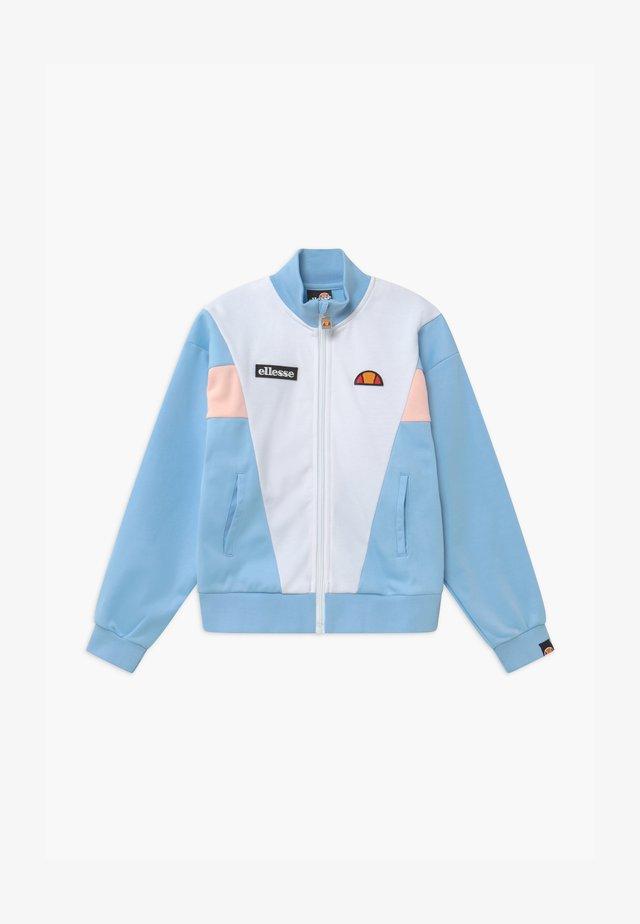 VICKTINA - Training jacket - light blue